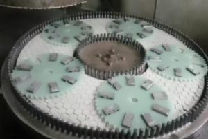 High accuracy double side surface grinding machine